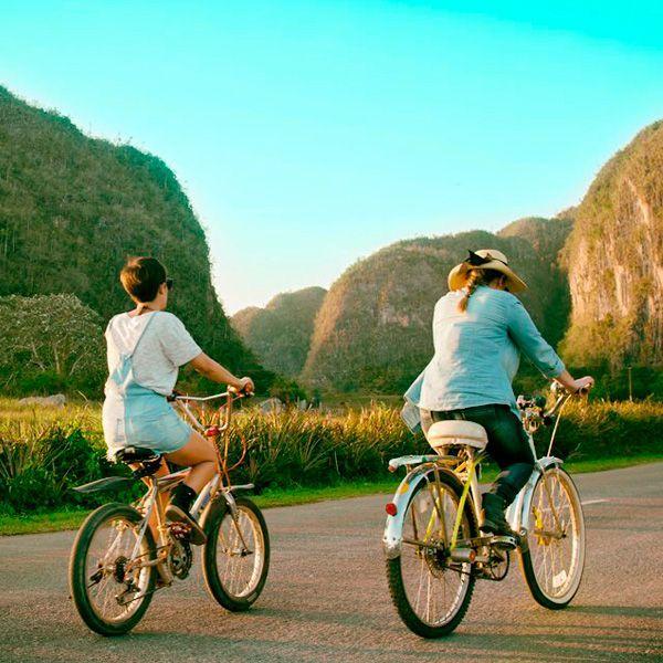 Alquiler de bicicletas en Viñales